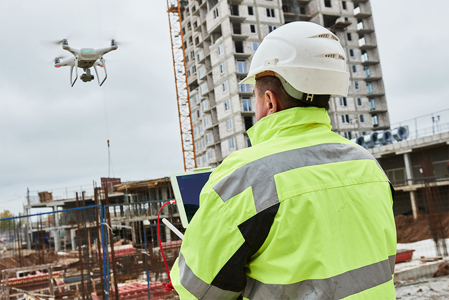 Drones - the next new construction technology