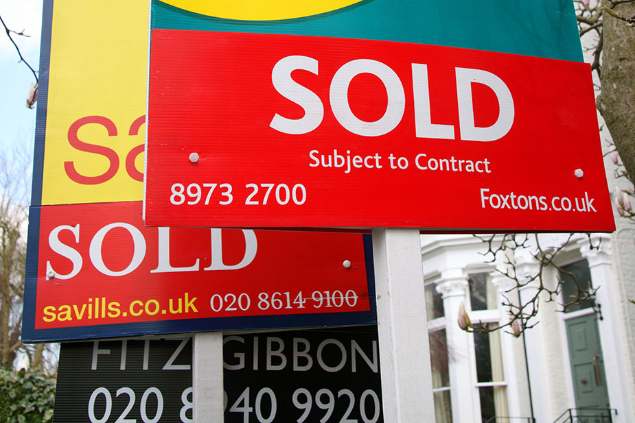 Ending of the house price boom?