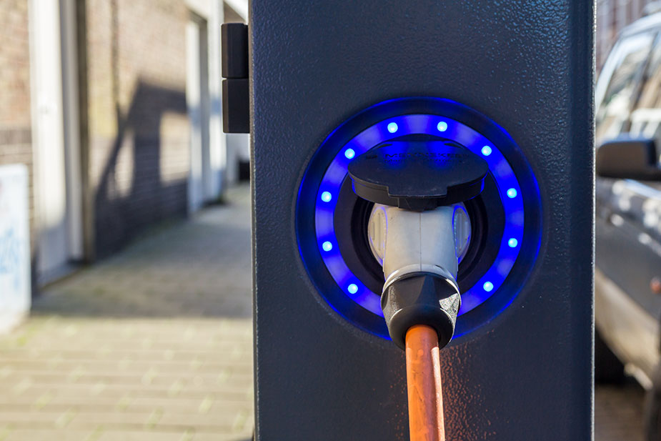 Green policies support electric vehicles