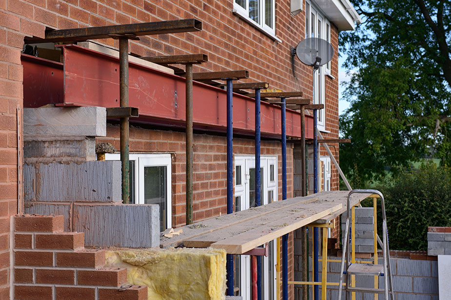 Home improvements in the East of England on the rise