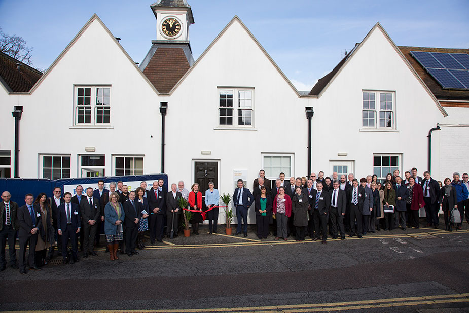 Launch of a flood resilient home by BRE