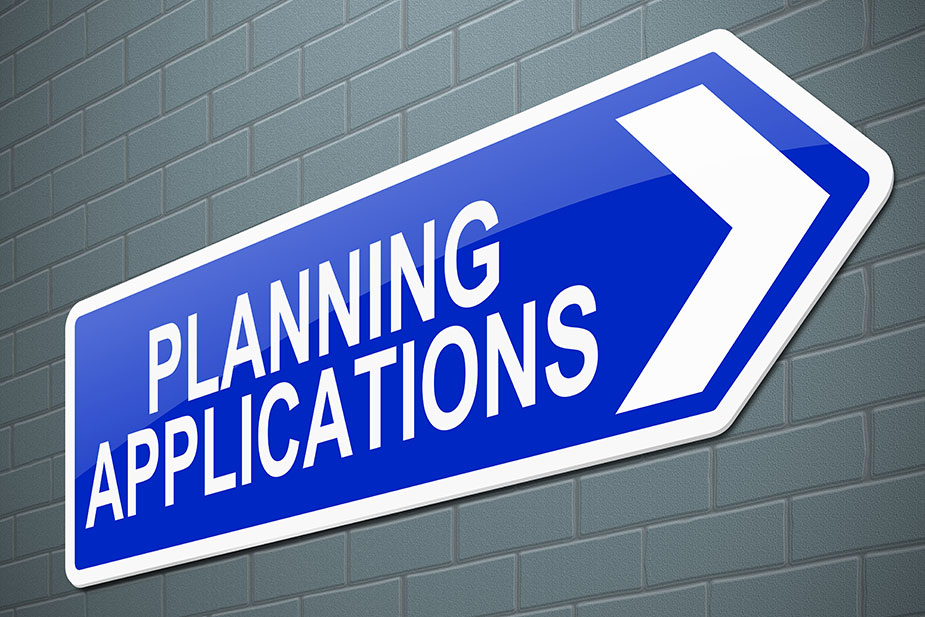Planning applications failing to increase