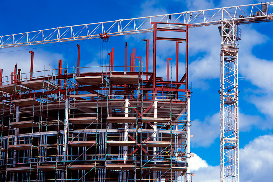 Scottish building industry is booming